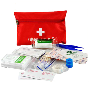 Mini first aid kit bags 13pcs components medical adhesive tape