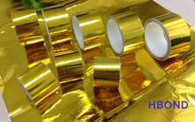 gold metalized polyimide film laminated thermo glass cloth tape