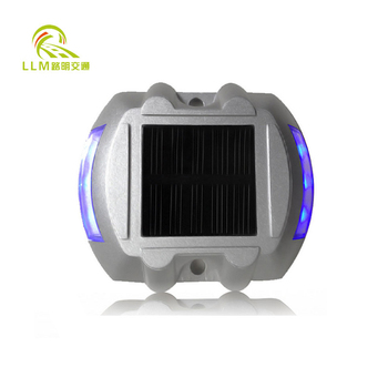 High quality 6*Led aluminum led solar road stud price,reflective road stud