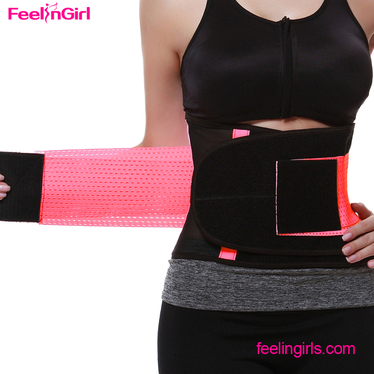 Private Label Sport Tummy Waist Trimmer Custom Adjustable Waist Trimmer Belt