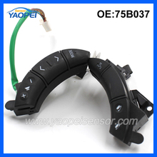 NEW Auto Steering Wheel Audio Control Button Switch 75B037 For Toyota Camry LandCruiser Sequoia