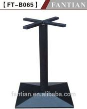 hot sale cheap table base with cross top for granite tops