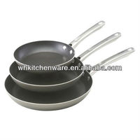 Different Size Cast Iron Frypan/Stainless Steel Cookware