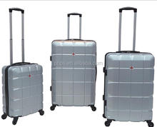 ABS Trolley Luggage Sets With Cheep Price Four Wheel