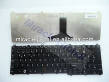 Replacement laptop keybaord for toshiba C650 C655 C660 notebook keyboard