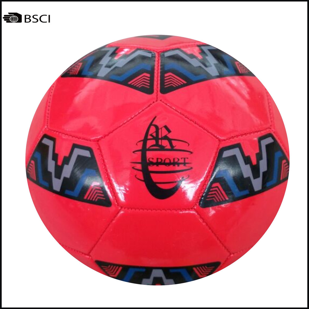 Promotion Yellow Machine Stitched Soccer Ball In Size 5