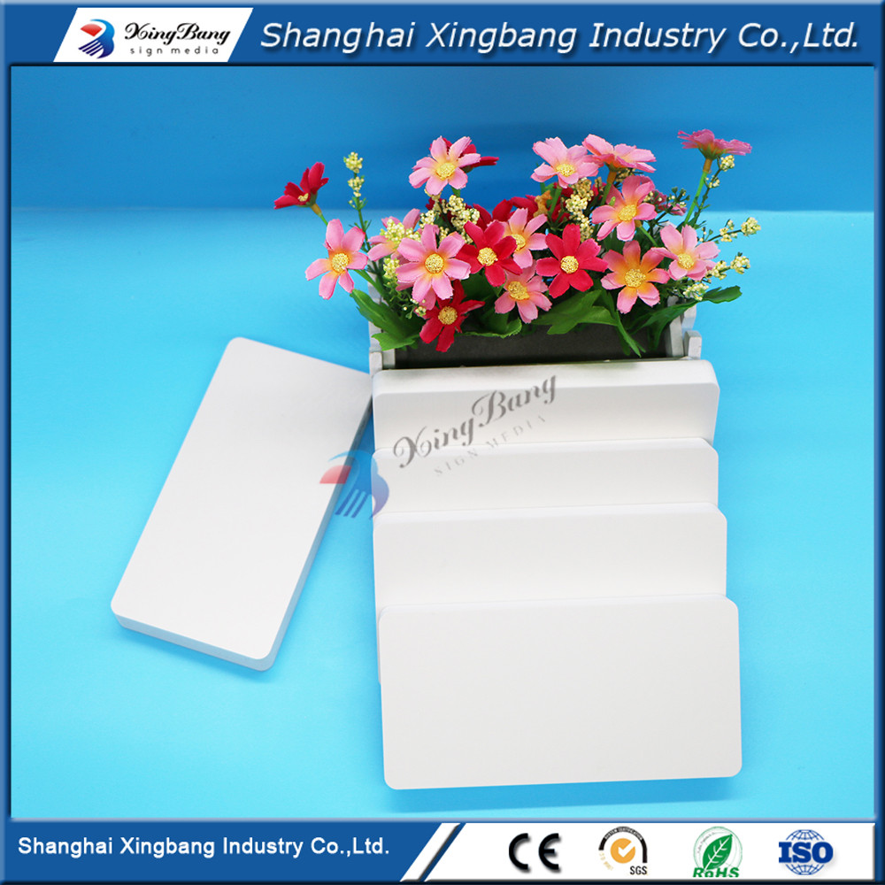 good quality 1.22*2.44m 1-40mm pvc plastic skirting board for photobook or album