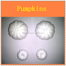beautiful artificial styrofoam pumpkin for DIY decoration