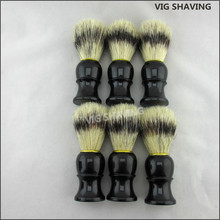 Faux Badger Hair Plastic Handle Boar Bristle Shaving <strong>Brush</strong>
