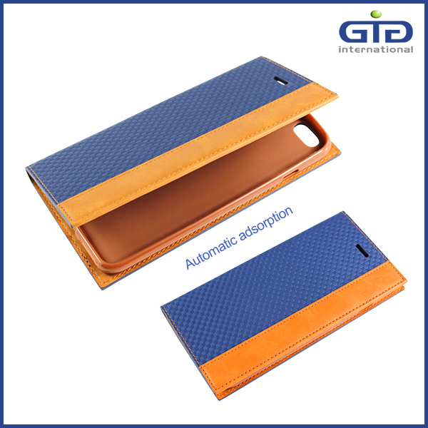 GGIT PU Leather Flip Cover Case for iPhone 6 Plus