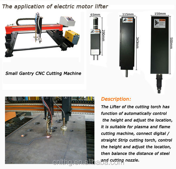 Plasma welding cutting Electric Lifter Adjust Cutting Torch For CNC Gantry Cutting Machine