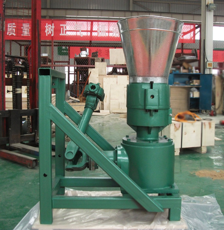 Flat die animal feed small fodder pellet machine