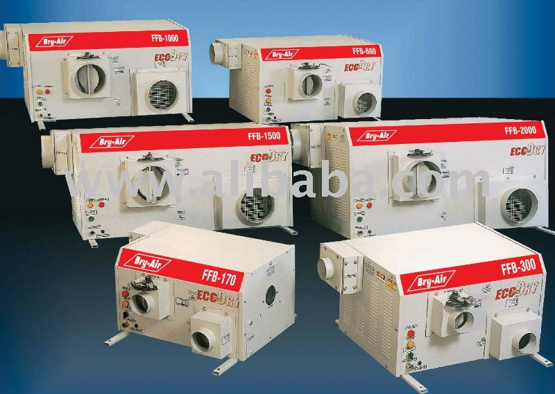 Dessicant Adsorption Wheel Type Dehumidifier Bry air brand