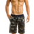Flattering and comfortable cut camo bermuda street gym wear mens beach shorts