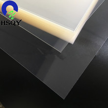 alibaba china hot selling clear pet mono-layer plastic sheet roll