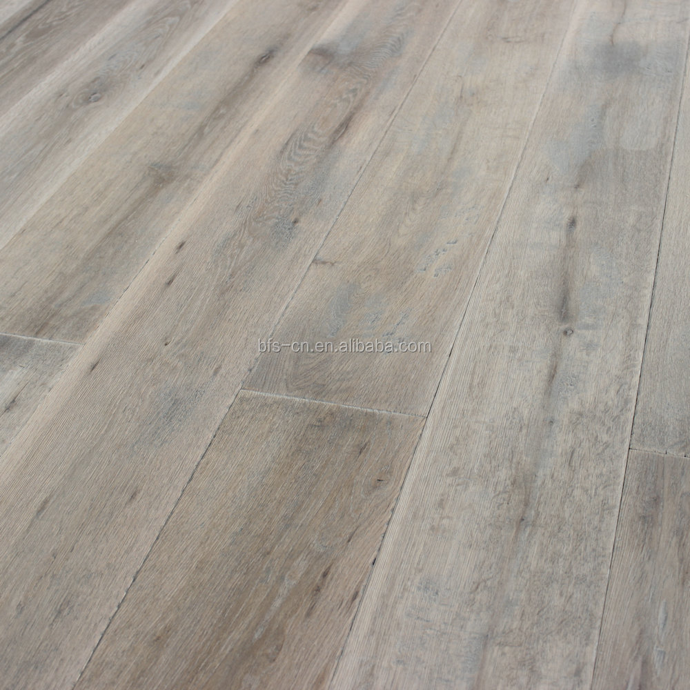 Handscraped and Distressed <strong>oak</strong> <strong>3</strong> - <strong>ply</strong> engineered Wood Flooring