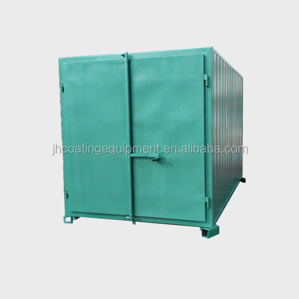 Walk In Powder Coating Curing Oven Batch Oven