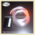 for lighting curtain 2.5mm plastic pmma fiber optical cable