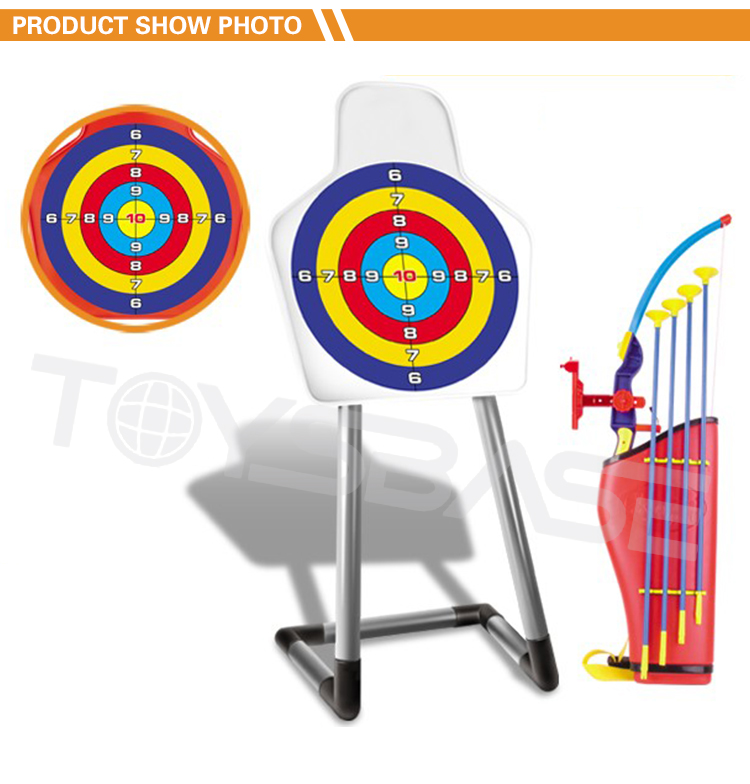 Hot Item Wholesale Classic Sport Game Shooting Bow And Arrow Kids Outdoor Toys