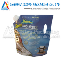 LIXING PACKAGING die cut plastic packing bag printer