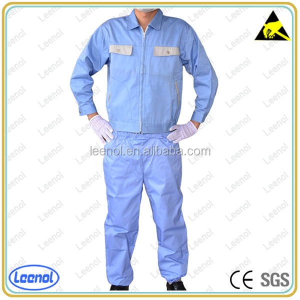 Clean room ESD smock