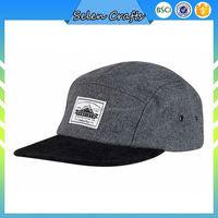 Oem Two Tone 100 Wool Summer Hip Hop Flat Brim Hat