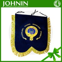 Customed decorative OEM service bagpipe banners