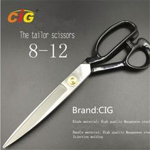 "Tailor's Scissors - 8""~12"" Stainless Steel - Best for Cutting Fabric, Leather, Lady's dress with Cutting Tailor"