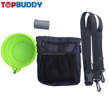 easy carry adjustable treat bag dog training treat pouch
