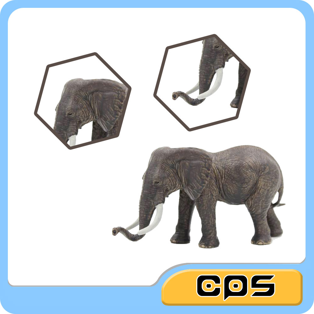 High Quality Wild Animal Models Plastic Toys