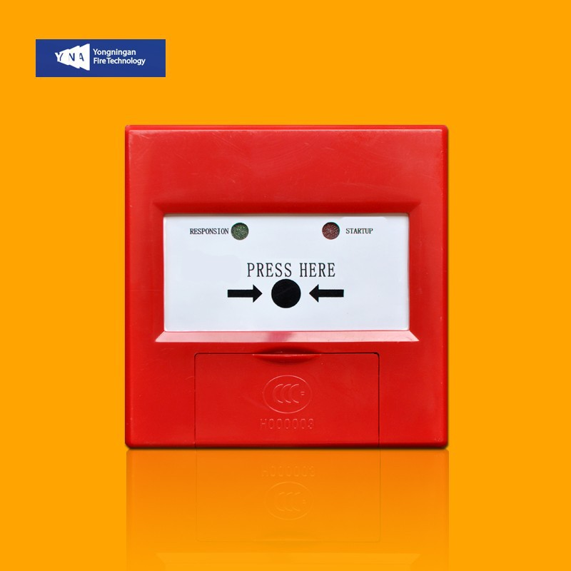 Addressable Resettable Fire Alarm Break Glass Manual Call Point Pull Station YNA-MC960