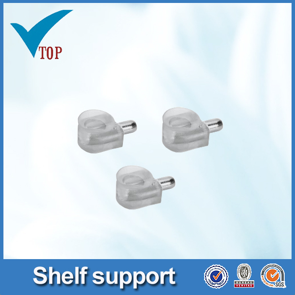 For cabinet support plastic shelf support