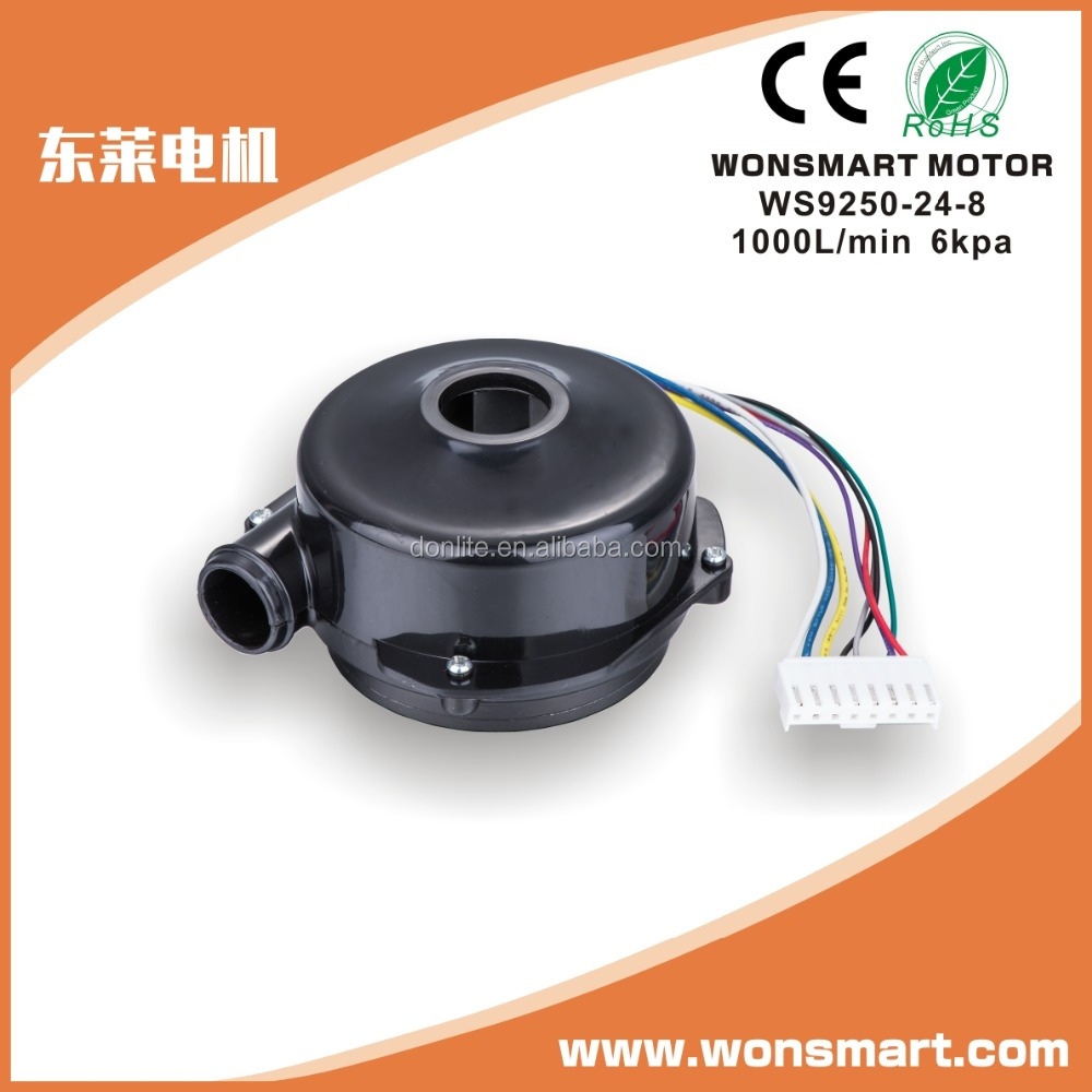 small electric air blowerbrushless dc motorblower fan 12v centrifugal