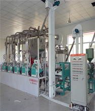 Low price wheat roller flour mill plant