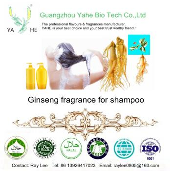 High concentrated Ginseng fragrance oil for shampoo good smell oil match brand in shampoo making factory price