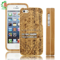 Newest Design Wooden Mobile Phone Case For iPhone 5 Wood/Bamboo Case