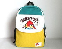 2016 Student Kids Children Shoulders Canvas Bags Cartoon Print Backpack For Kids Patchwork Bags Wholesale Cheap BA81202-37