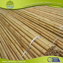 2014 Natural round wood poles with plastic cap With SGS