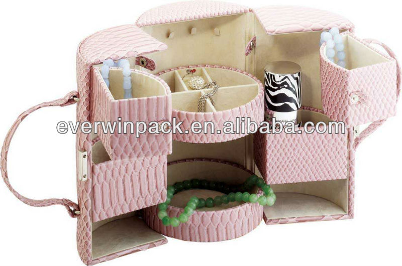leather cosmetic box wholesale