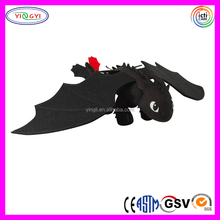 A036 Soft Cartoon How to Train Your Dragon Stuffed Toothless Plush Toy