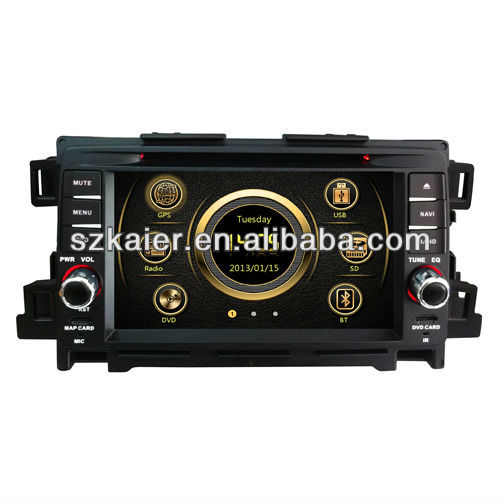 7 inch car dvd for new mazda 6 2013 with 3G - ipod - dvd - gps - radio - bt phonebook - joysticks