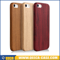 New design protective slim wood case for iphone SE, wooden pattern back cover for iphone 5 5S SE