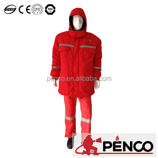 PENCO Firefighting suit/Fire retardant cotton winter coat/forest firefighting clothing/fireman clothing