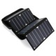 2017 High quality 26W portable flexible folding cheapest the solar panel