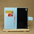 Newest new products pu leather cover for huawei p7