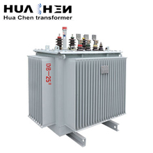 Low noise environmental protection three-phase 100kva full-sealed power transformer distribution transformer