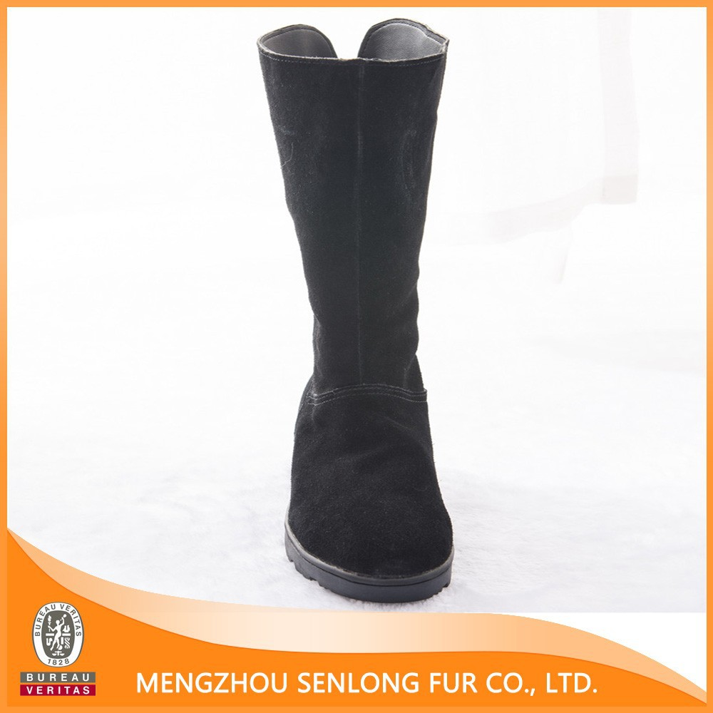 Hot selling sheepskin women boots 2014