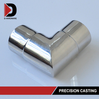 90 Degree handrail support perpendicular Professional tube connecter