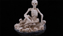customized resin human skeleton ashtrays