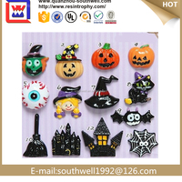 Customerized Laminated Paper Fridge Magnet Halloween Magnets For Decoration